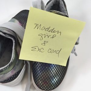 Steve Madden Shoes - Madden Girl Metallic Lace Up Sneaker